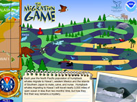 Humpback Whale Migration Game