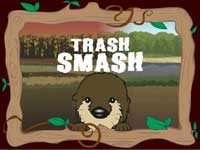 Trash Smash game